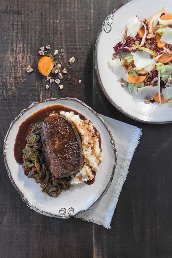 alabama_wedding_caterer_russell_lands_steak_entree_eric_and_jamie_photo